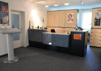 Rezeption Zahnarztpraxis Gnauck